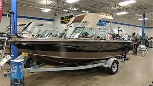 2017 LUND 1800 TYEE W/150 4S OUTBOARD
