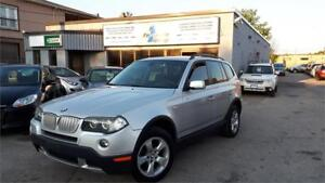 2007 BMW X3 3.0si  NAVI, PAN-ROOF