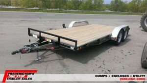 2017 PJ Trailers 83''X18' Car/Equipment Hauler