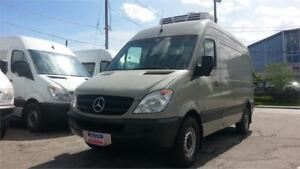 2010 Mercedes-Benz Sprinter 2500, REEFER, DIESEL, 3 SEAT