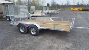 2018 K-TRAIL 6'x10'     TANDEM     Galvanized Trailer