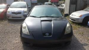 2000  TOYOTA CELICA STYLISH CAR MANUAL SAFETY & WARRANTY