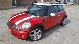 2010 MINI COOPER AUTOMATIC LEATHER SUNROOF ALLOY'S CERTIFIED