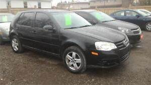 2009 Volkswagen City Golf-Gas Saver-Great Condition-Certified.