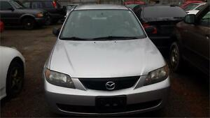 2003 MAZDA PROTEGE AUTOMATIC GOOD RUNNING CONDITION