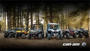 NO PAYMENTS FOR 1 FULL YEAR PLUS REBATES ON ATV & SIDE BY SIDES