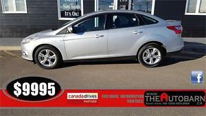 2013 FORD FOCUS SE SEDAN - cruise, bluetooth, heated seats.