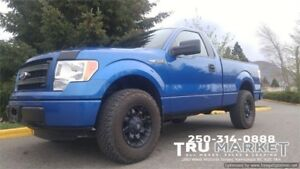 2014 F-150 *STX Shortbox 4x4 *ONE OWNER, FACTORY WARRANTY*
