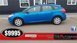 2013 FORD FOCUS SE HATCHBACK - Fully loaded, cruise, bluetooth