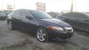 2013 Acura ILX Tech Pkg|NAVI|REARVIEW CAM|BLACK ON BLACK|