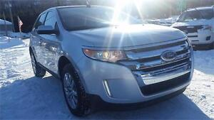 2013 FORD EDGE LIMITED , AWD , 3.5 LIT , PANO , GPS , CUIR