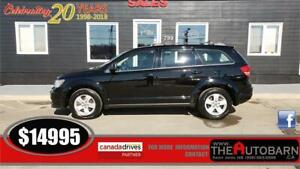 2015 DODGE JOURNEY SE+ CRUISE, BLUETOOTH, ONLY 66590KM