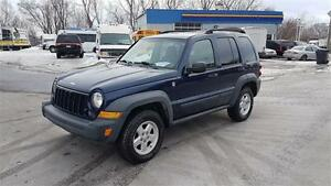 2006 Jeep Liberty Trail Rated-- 4X4, AUTOMATIQUE, Air climatise,