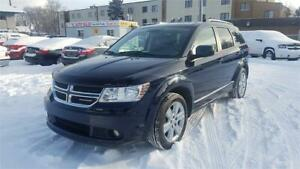 2011 Dodge Journey R/T-AWD-7 Passengers-Leather-Navi-Camera-