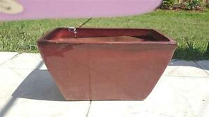 Glazed Maroon Pot For Sale Wavell Heights Brisbane North East Preview