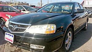 2002 ACURA 3.2TL Auto, 180k, 3 YRS WARRANTY INCLUDED !!!