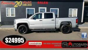 2016 GMC SIERRA 5.3l V8 1500 SLT - BACKUP CAMERA, TONNEAU COVER