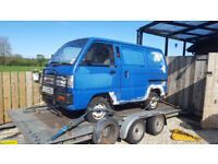 Bedford Rascal & Suzuki Supercarry van restoration projects
