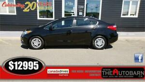 2016 KIA FORTE LX+ SEDAN - 4cyl auto, heated seats, bluetooth