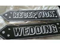 Wedding signs & decor