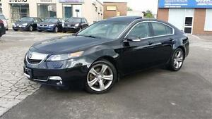 2012 ACURA TL SH AWD PREMIUM PACKAGE BLACK ON BLACK