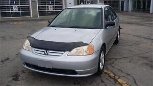 2001 Honda Civic, PROPRE, ECONOMIQUE, PAS CHER