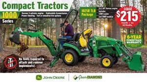 1025R TLB COMPACT UTILITY TRACTOR