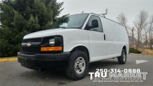 CHEVROLET EXPRESS CARGO *WORK READY/BULKHEAD/STORAGE*