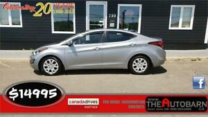2016 HYUNDA ELANTRA GL - auto, loaded, ONLY 21638KM!!!