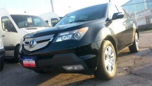 2009 Acura MDX 7-SEATER, LEATHER, S-ROOF, AWD, 3.7L V6