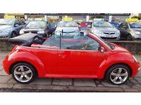 Volkswagen Beetle 1.4 Cabrio(electric hood)