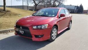 2017 Mitsubishi Lancer ES | 2 Owner | Back Up Cam. | Bluetooth