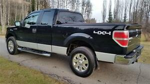 2009 F-150 XLT 4X4 BLACK BEAUTY MUST SEE Prince George British Columbia image 4