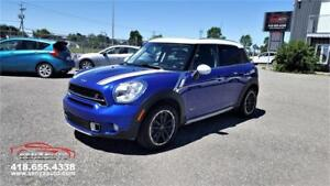 2015  Mini Cooper S Countryman ALL4  Automatique / 63.000 Km.