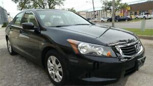 2010 Honda Accord Sdn LX-P LOW KM FINANCING AVAILABLE ACCIDENT F