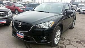 2014 Mazda CX-5 GT, AWD, NAVI, LEATHER, S-ROOF