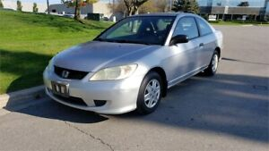 2005 Honda Civic Cpe DX | 5 Spd | 1 Owner | Accident-Free