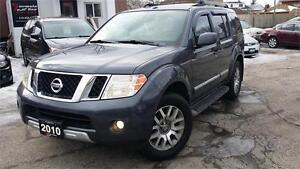 2010 Nissan Pathfinder LE -7 PASS! LEATHER! BACK-UP CAM!