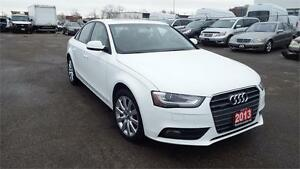 2013 Audi A4 Premium/NO ACCIDENT/SUNROOF/ALLOY/LEATHER/CERTIFIED