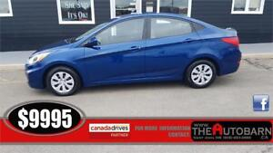 2015 HYUNDAI ACCENT GLS SEDAN - cruise, bluetooth, heated seats