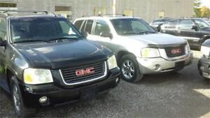 2004 GMC Envoy SLT have 2 take both for 2000 as.is deal