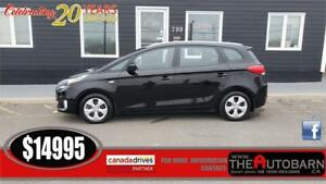 2014 KIA RONDO LX - 7 PASSENGER - Cruise, bluetooth, heated seat