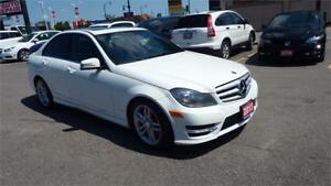 2013 Mercedes-Benz C-Class C 300/SUNROOF/AUTO/IMMACULLATE $17999