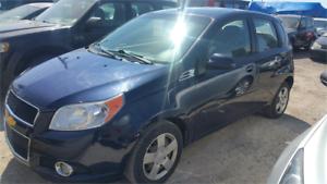 2010 Chevrolet Aveo LT AUTOMATIC BAS KM TOIT A/C GARANTIE 1 ANS