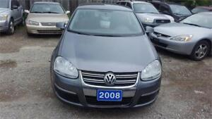 2008 VW JETTA VERY SMOOTH DRIVING AUTOMATIC WITH SAFETY
