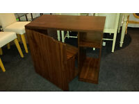 Brand new computer desk with storage door