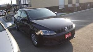 2012 VW JETTA BLACK.SERVICED AT  HUMBERVIEW VW SINCE NEW!
