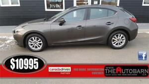 2014 MAZDA 3 GS-Sky Hatchback - Cruise, bluetooth, heated seats.