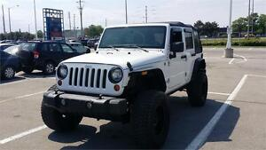 2011 Jeep Wrangler Unlimited. Extended warranty available.
