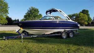 Monterey 224FS Wake For Sale | Volvo Penta V6-240 DP | Trailer